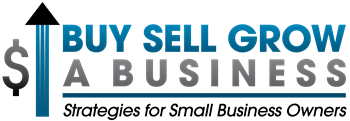 Buy, Sell, Grow a Business Logo